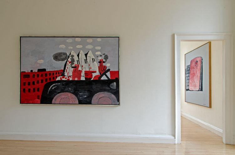 Riding Around by Philip Guston (1969)